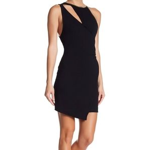 Free People Black Toast to That Mini Dress
